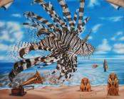 Звук моря, рождающий в нашем воображении Огненного Дракона